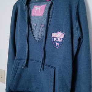 Victoria Secret Navy Blue Pullover Hoodie